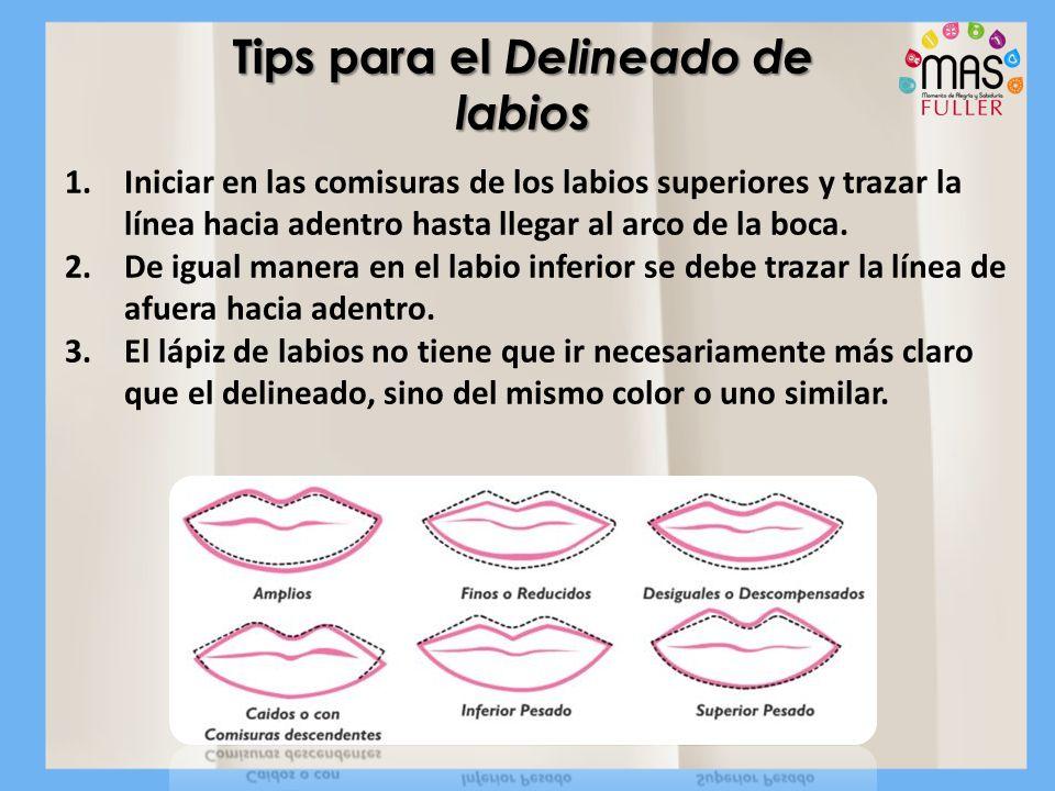 Tips para el Delineado de labios