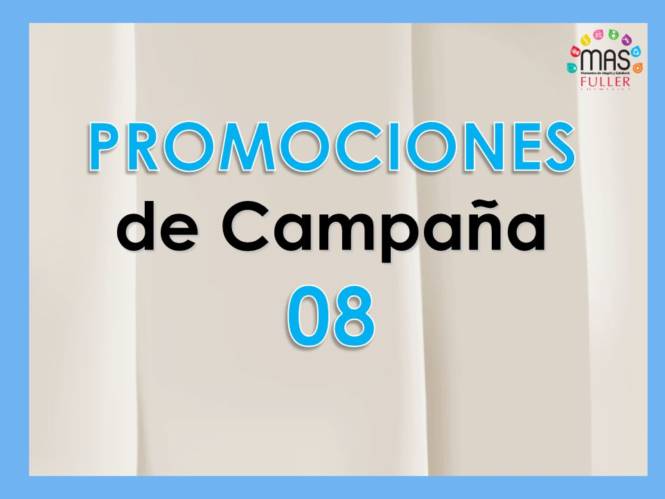 PROMOCIONES de Campaña 08