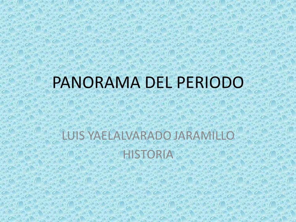 LUIS YAELALVARADO JARAMILLO HISTORIA
