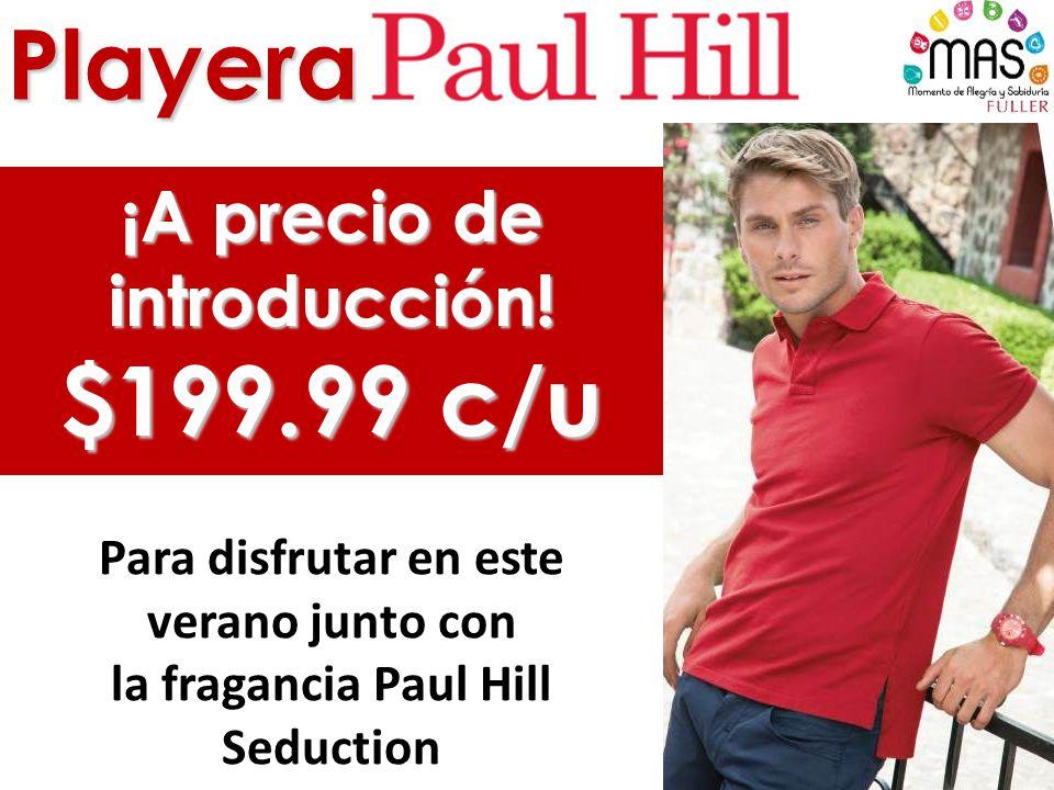 Playera ¡A precio de introducción! $199.99 c/u