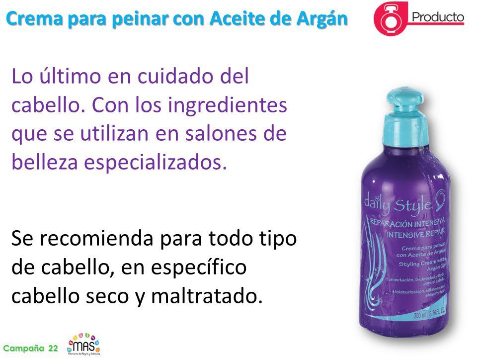 Crema para peinar con Aceite de Argán