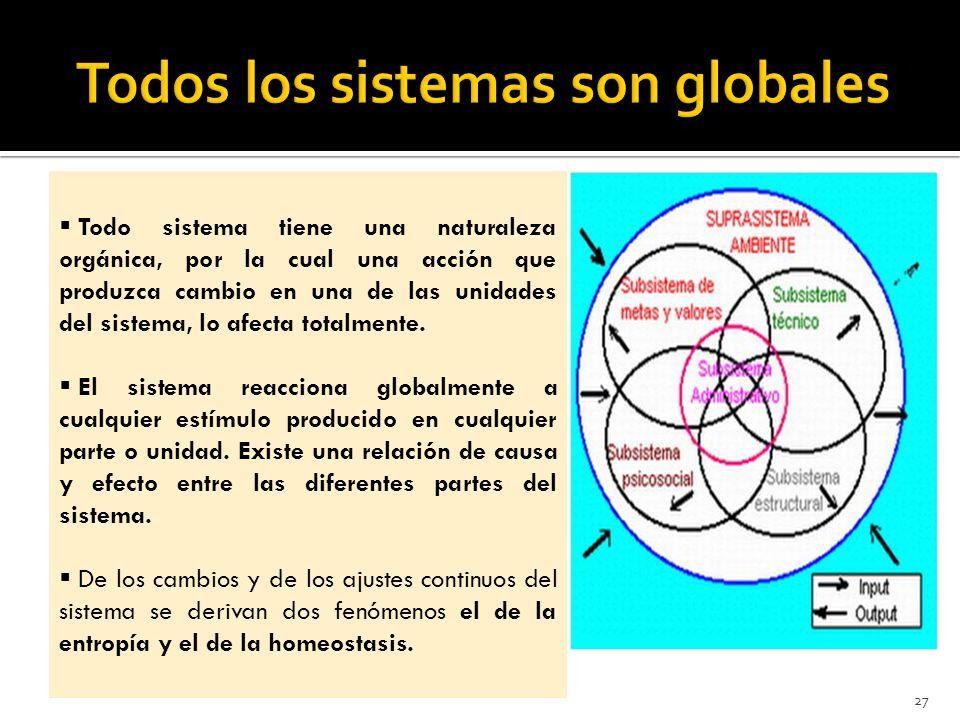 Todos los sistemas son globales