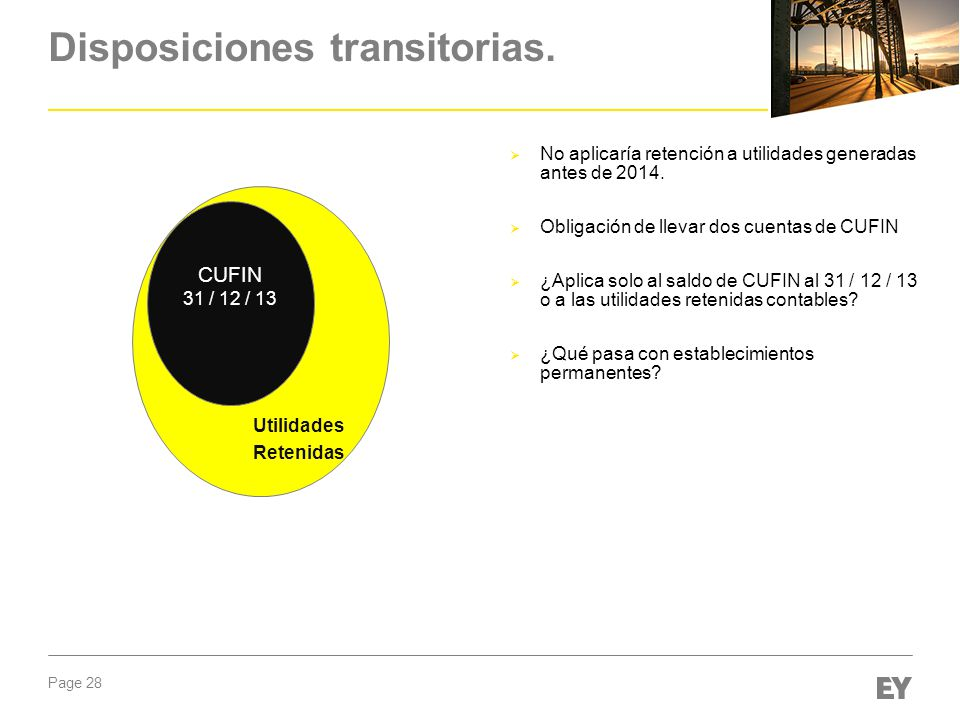 Disposiciones transitorias.
