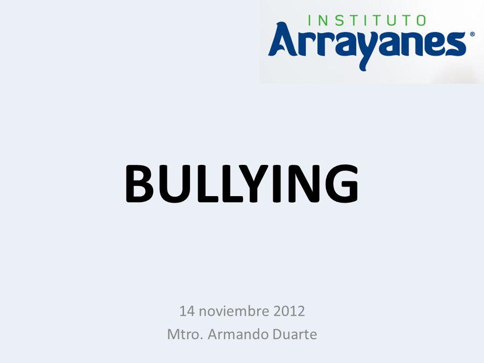 14 noviembre 2012 Mtro. Armando Duarte