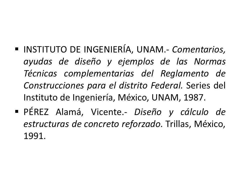 INSTITUTO DE INGENIERÍA, UNAM
