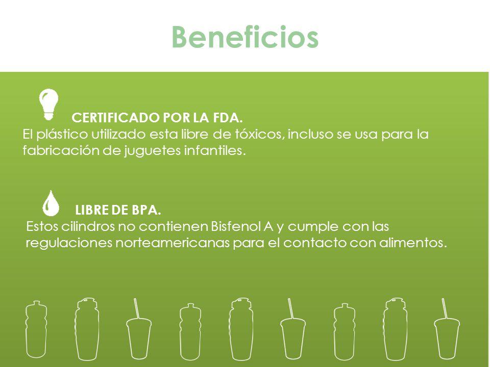Beneficios CERTIFICADO POR LA FDA.