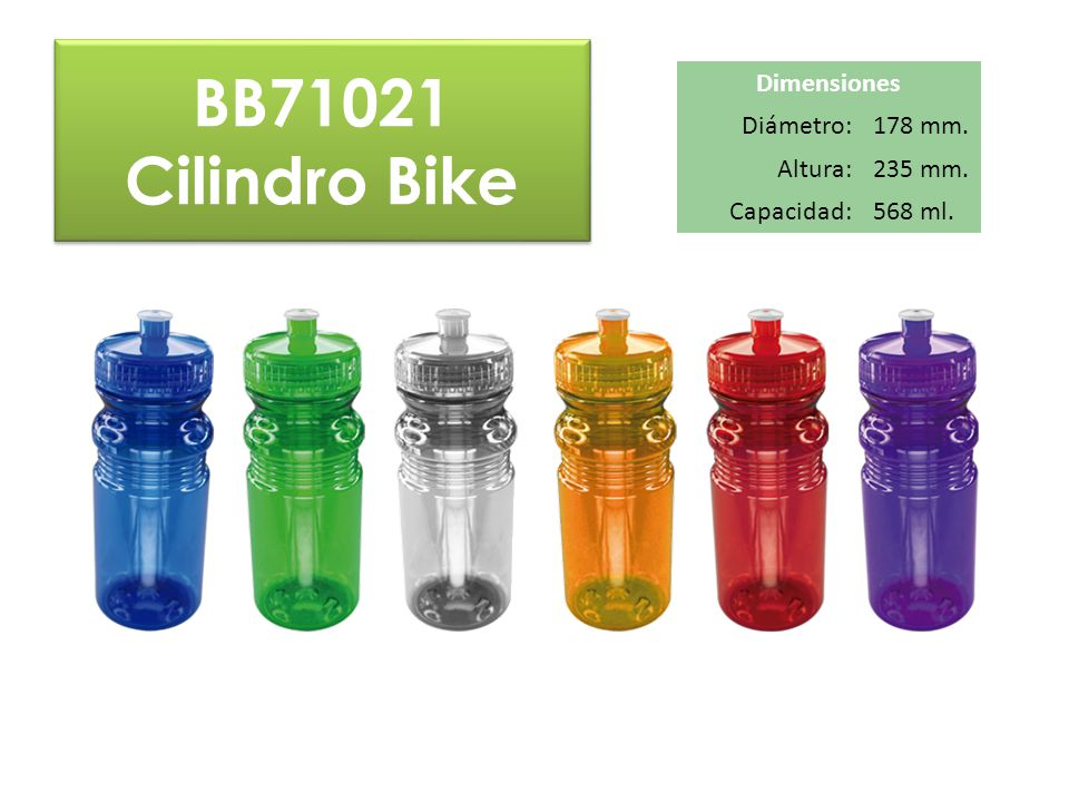 BB71021 Cilindro Bike Dimensiones Diámetro: 178 mm. Altura: 235 mm.