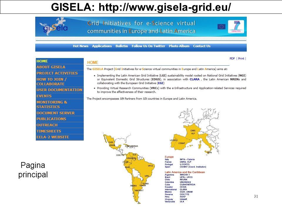 GISELA: http://www.gisela-grid.eu/