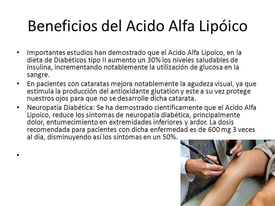 Beneficios del Acido Alfa Lipóico
