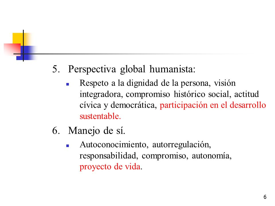 Perspectiva global humanista: