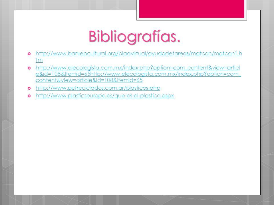 Bibliografías. http://www.banrepcultural.org/blaavirtual/ayudadetareas/matcon/matcon1.htm.