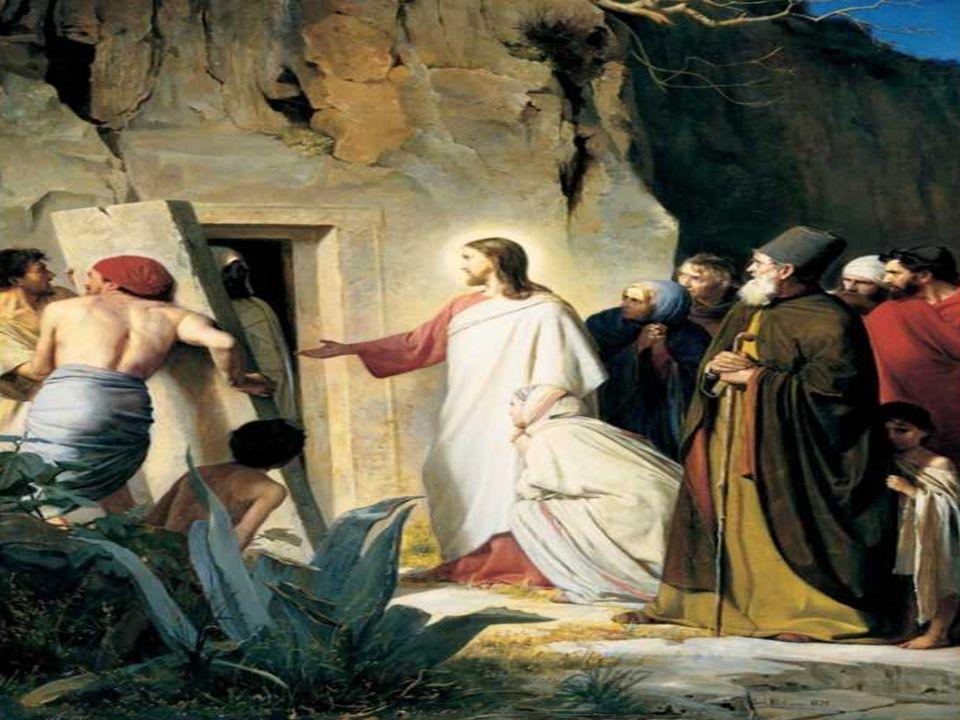 - El Diálogo: - Jesús afirma: Yo soy la resurrección y la Vida