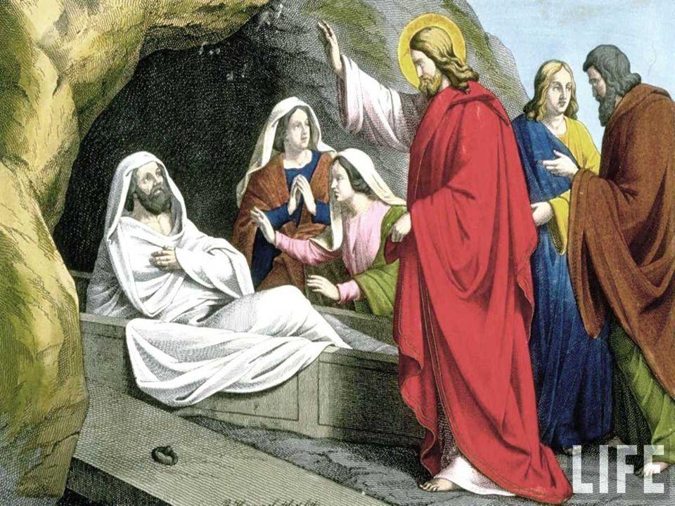 + Resurrección de Lázaro es una SEÑAL: (7a y última antes de la Pasión)