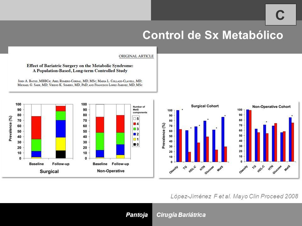 Control de Sx Metabólico