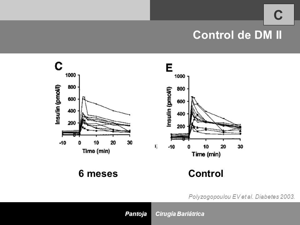 C Control de DM II 6 meses Control