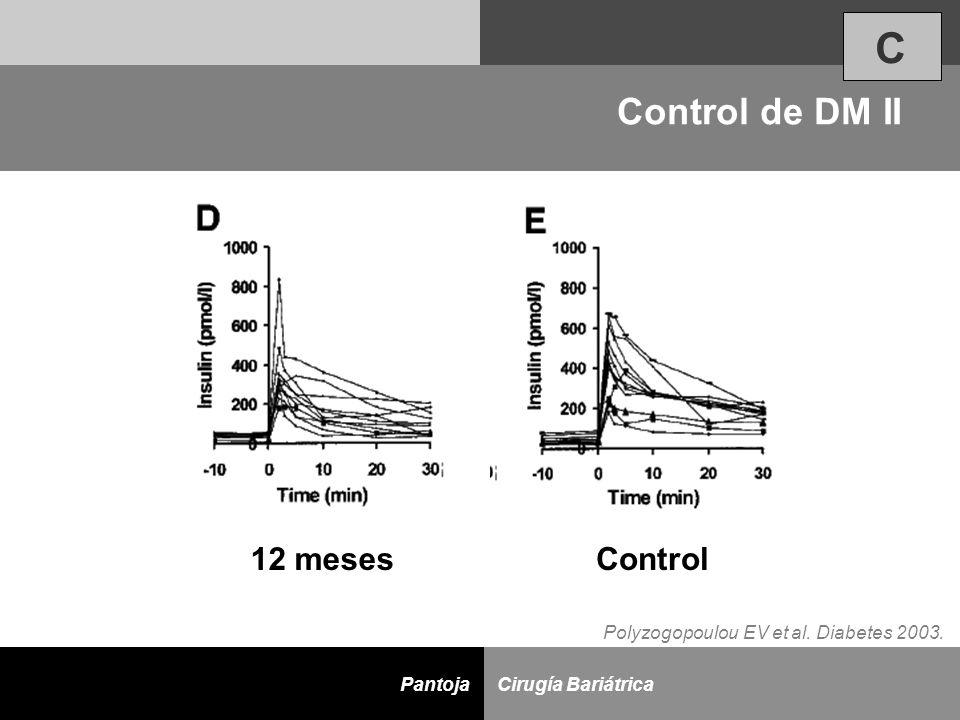 C Control de DM II 12 meses Control