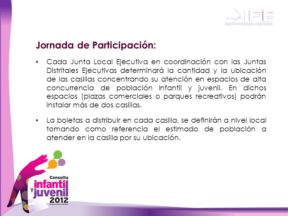 Jornada de Participación: