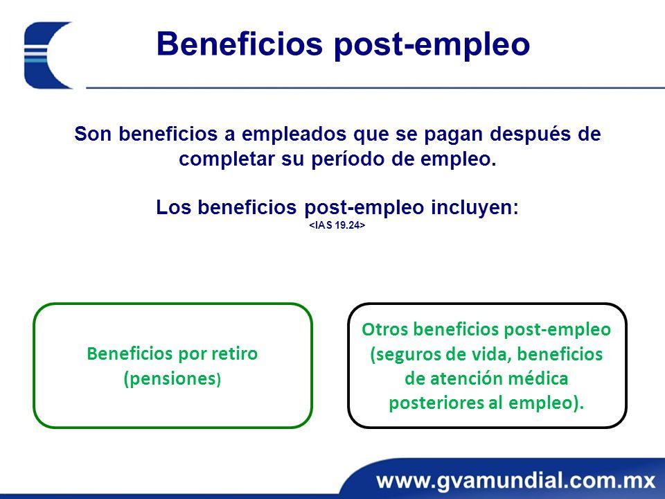 Beneficios post-empleo
