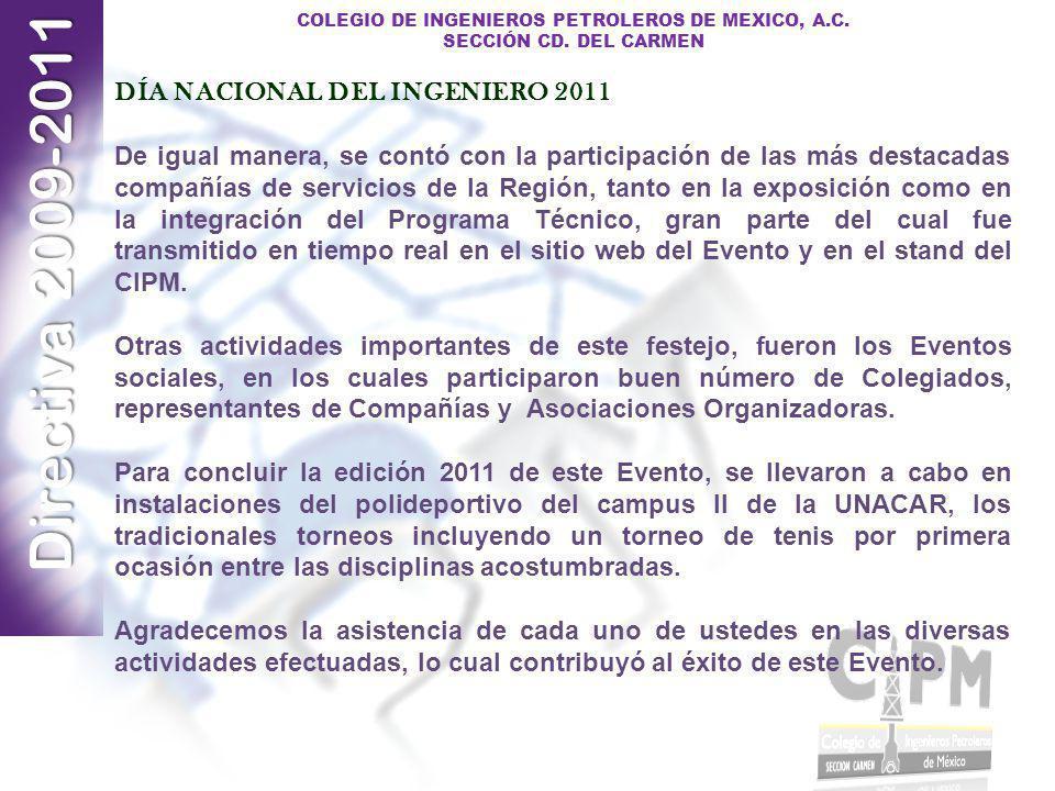 DÍA NACIONAL DEL INGENIERO 2011