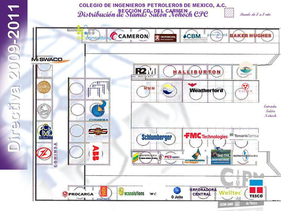 Distribución de Stands Salón Nohoch CPC