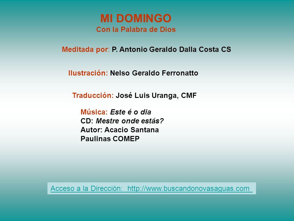 Traducción: José Luis Uranga, CMF