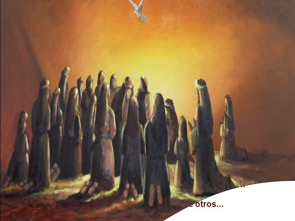 * Lucas quería afirmar que en la fiesta de la entrega de la Ley de Moisés,