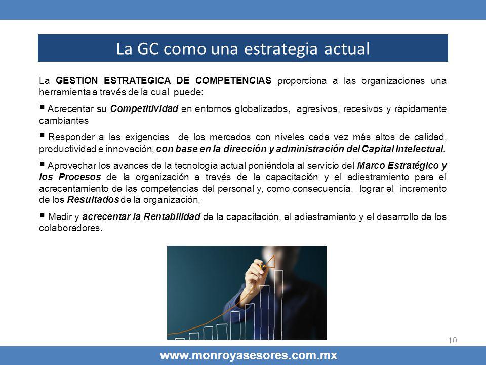 La GC como una estrategia actual