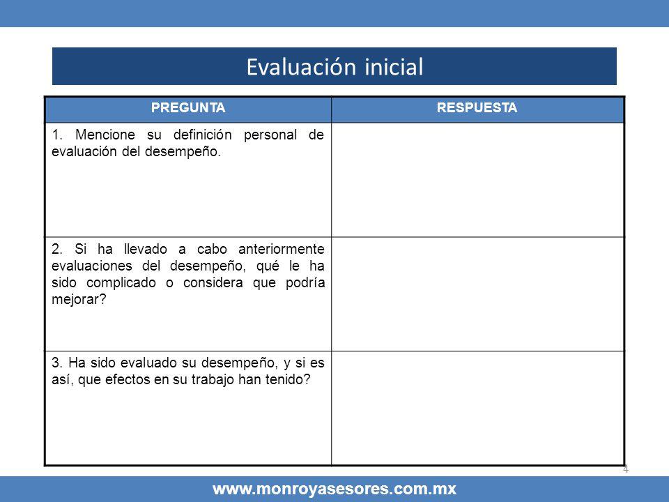 Evaluación inicial www.monroyasesores.com.mx