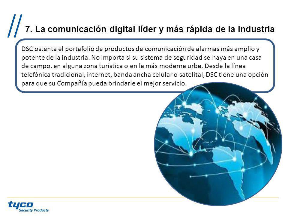 7. La comunicación digital líder y más rápida de la industria