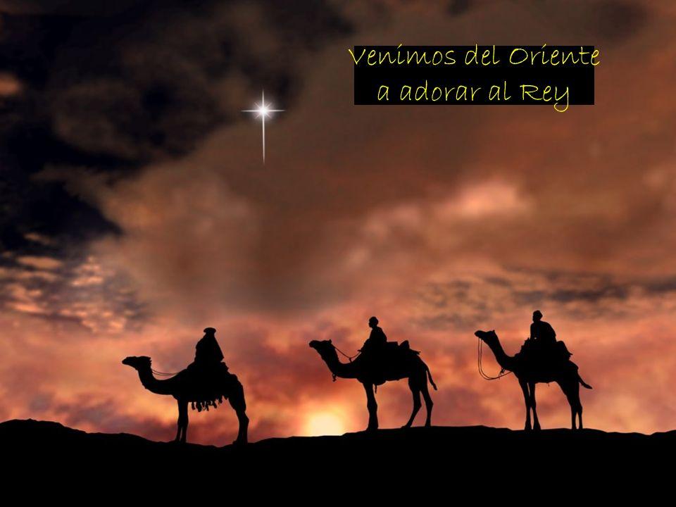 Venimos del Oriente a adorar al Rey + ¿Con quién nos asemejamos
