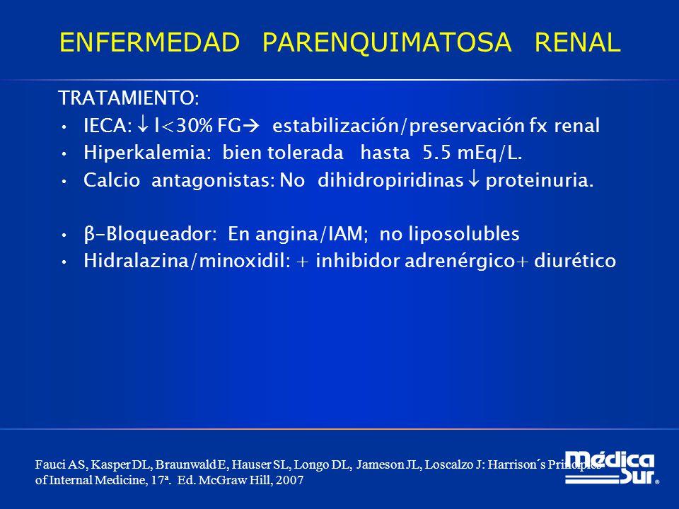 ENFERMEDAD PARENQUIMATOSA RENAL