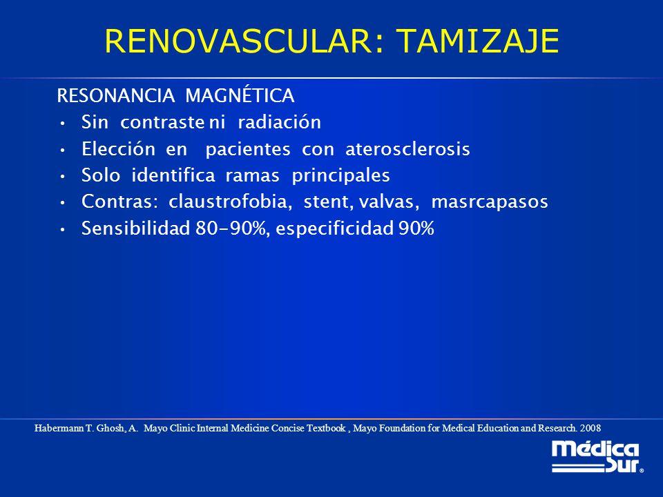 RENOVASCULAR: TAMIZAJE