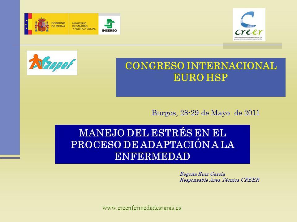 CONGRESO INTERNACIONAL EURO HSP