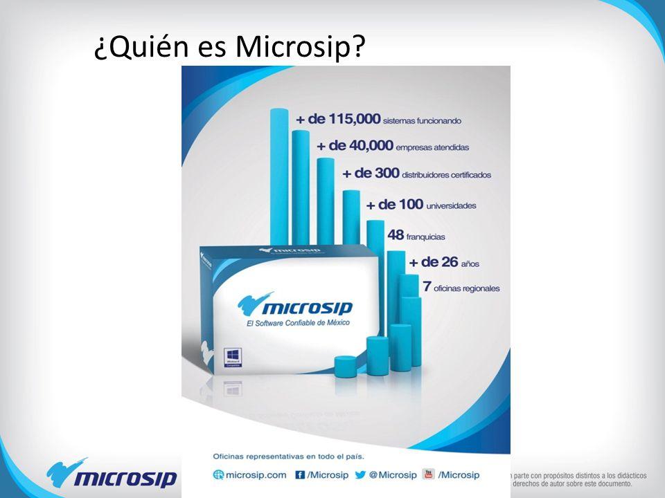¿Quién es Microsip