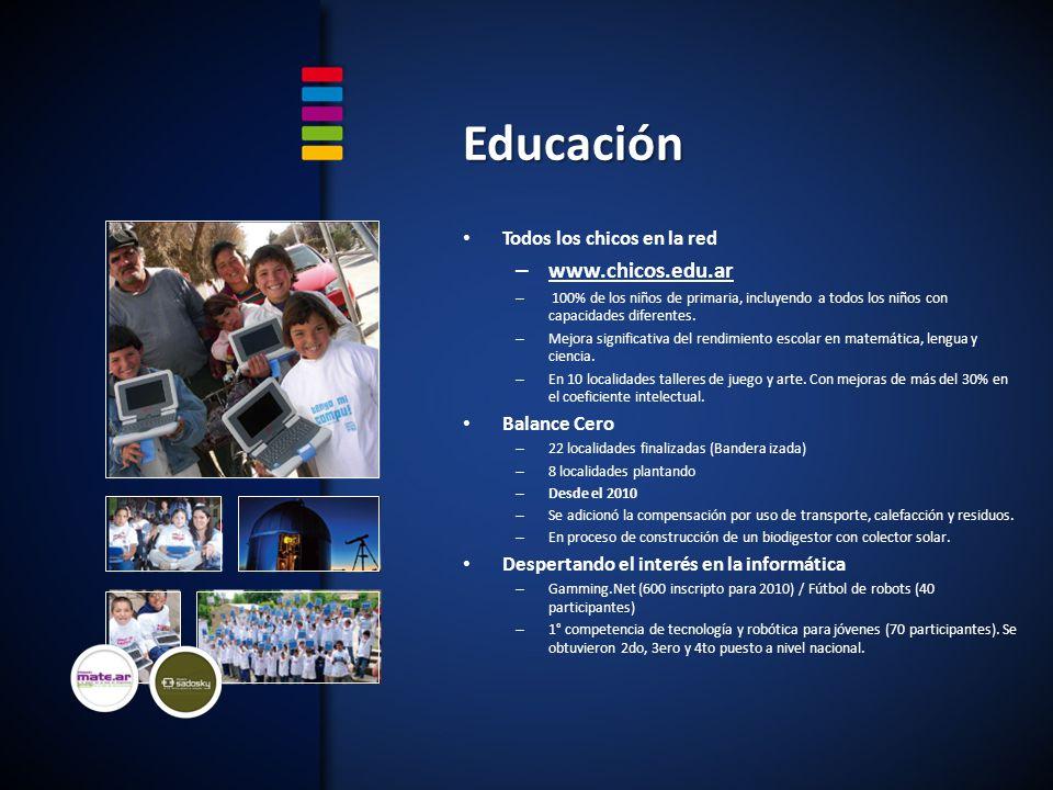 Educación www.chicos.edu.ar Todos los chicos en la red Balance Cero