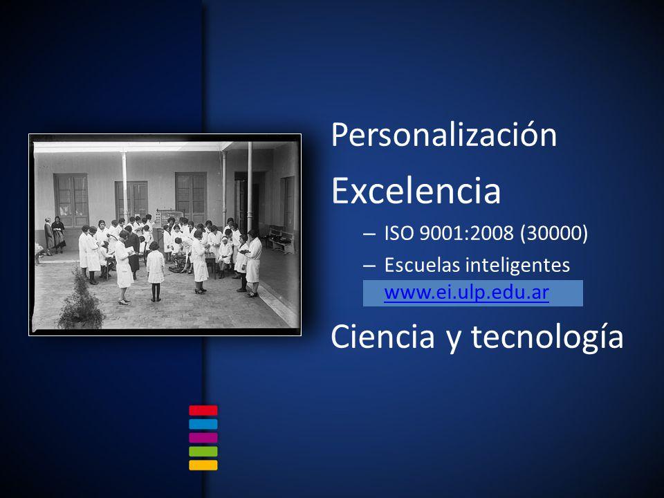 Excelencia Personalización Ciencia y tecnología ISO 9001:2008 (30000)