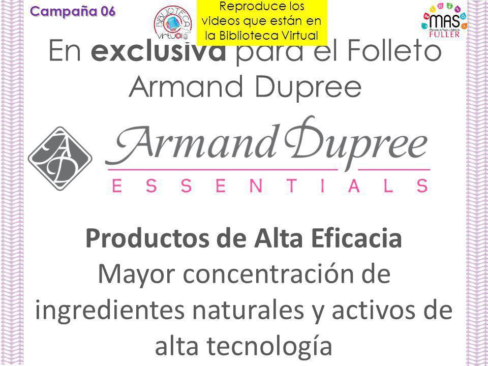 Productos de Alta Eficacia