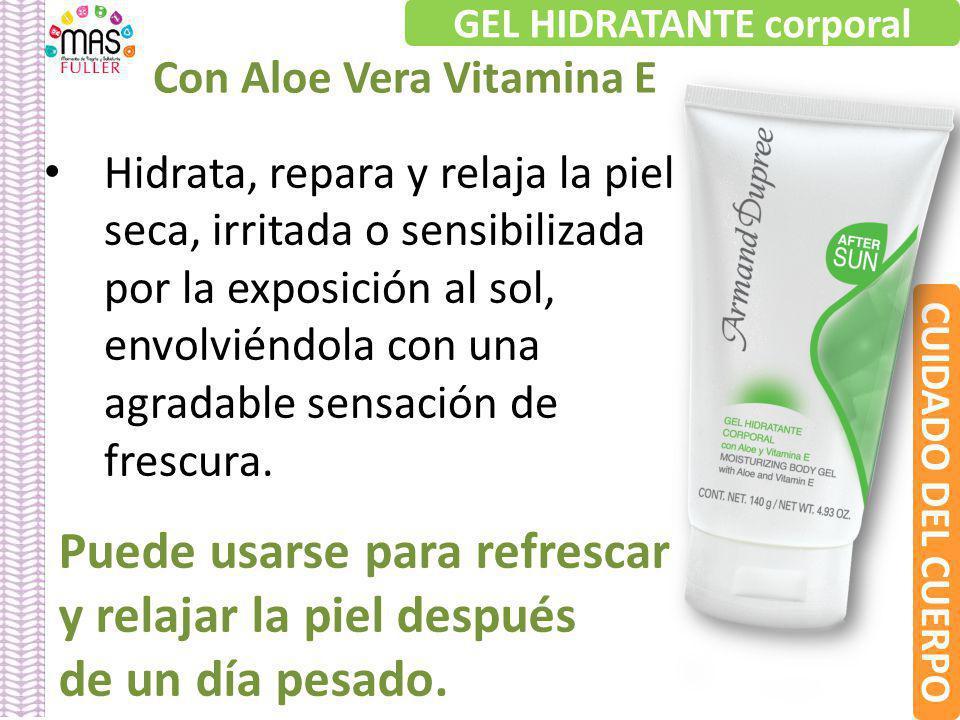 GEL HIDRATANTE corporal Con Aloe Vera Vitamina E