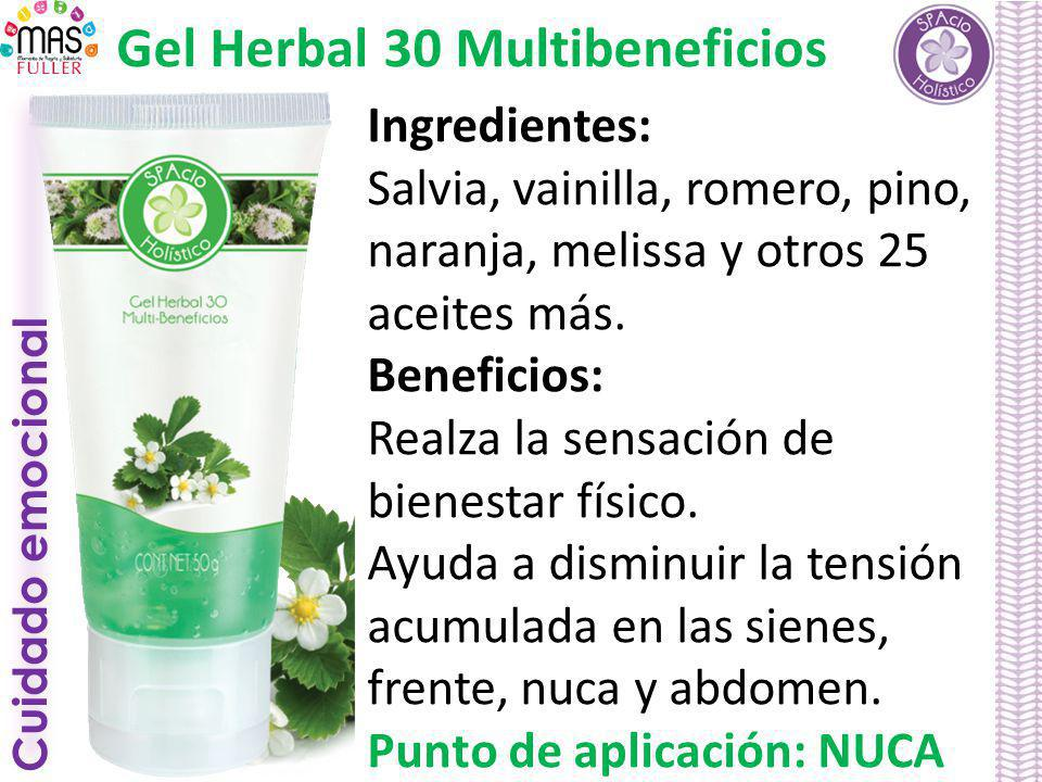 Gel Herbal 30 Multibeneficios