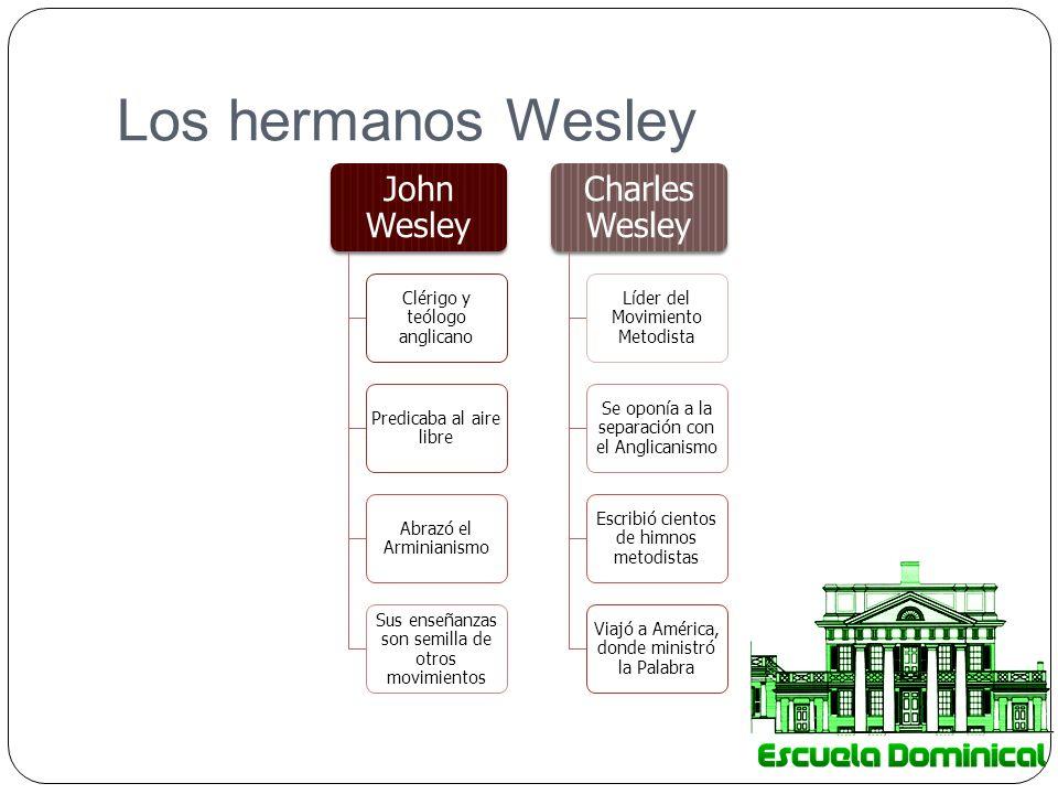 Los hermanos Wesley John Wesley Charles Wesley