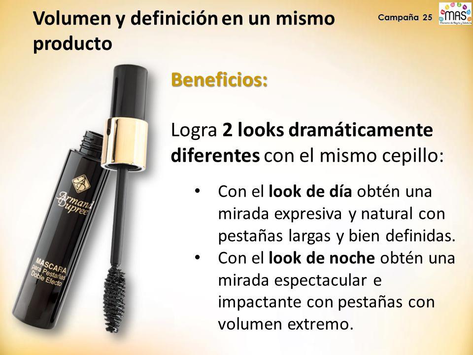 Volumen y definición en un mismo producto