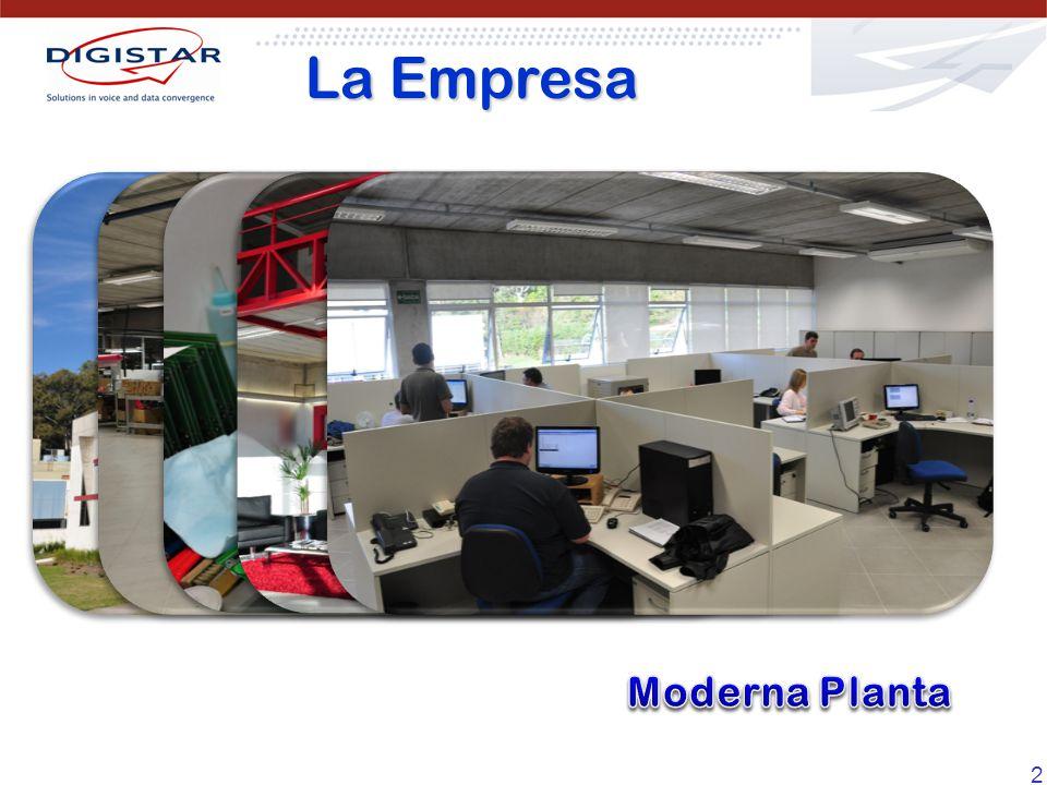 La Empresa Moderna Planta
