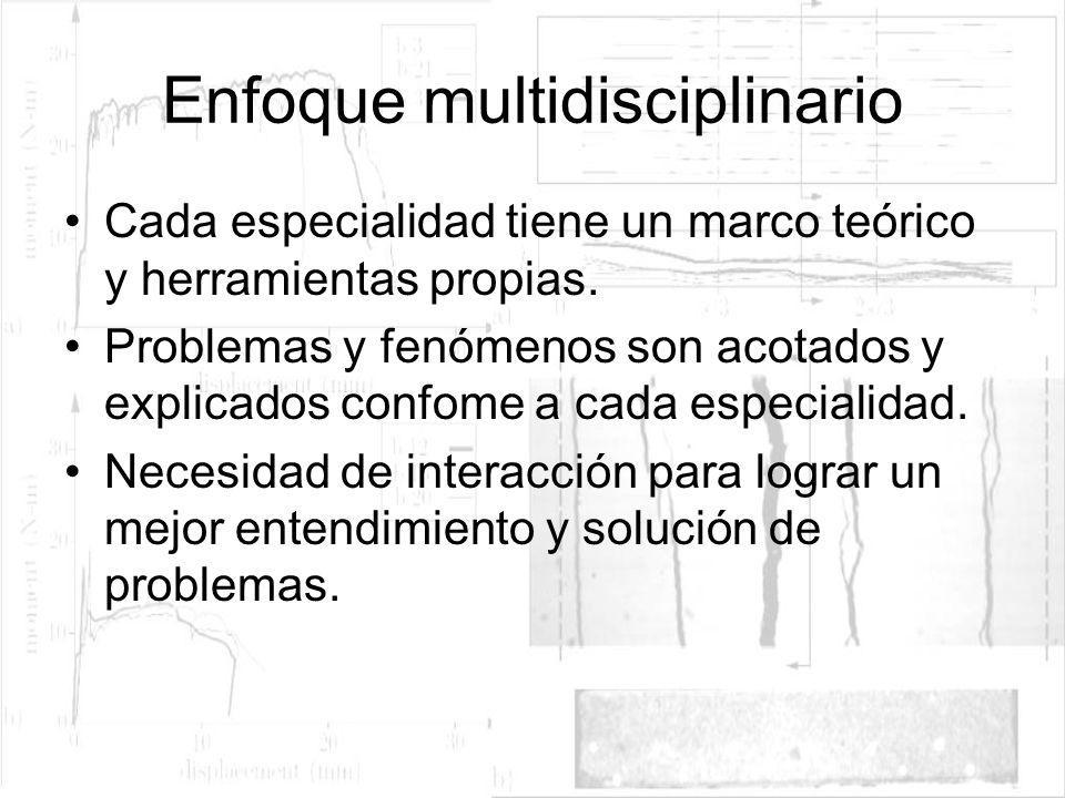 Enfoque multidisciplinario