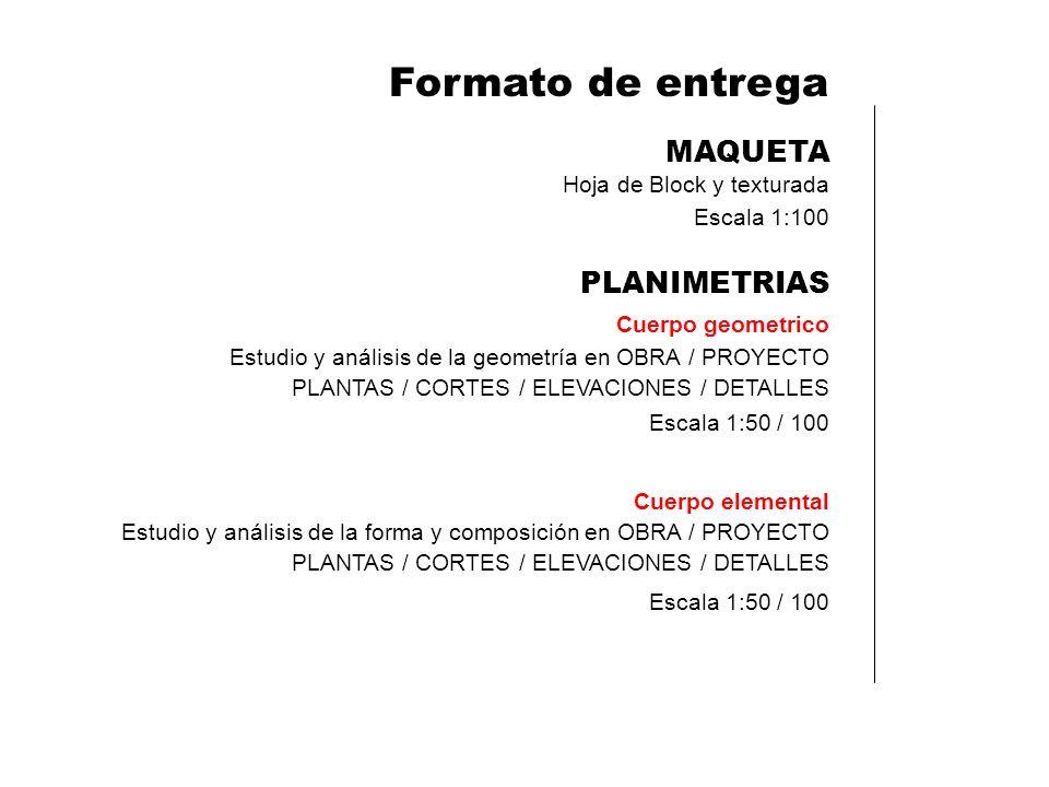 Formato de entrega MAQUETA PLANIMETRIAS Hoja de Block y texturada