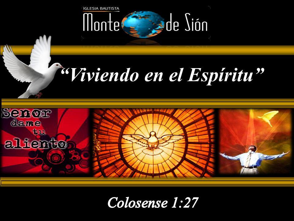 Viviendo en el Espíritu