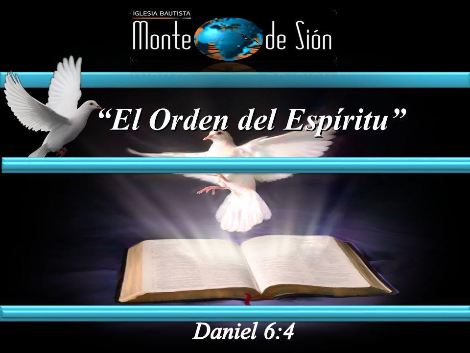 El Orden del Espíritu