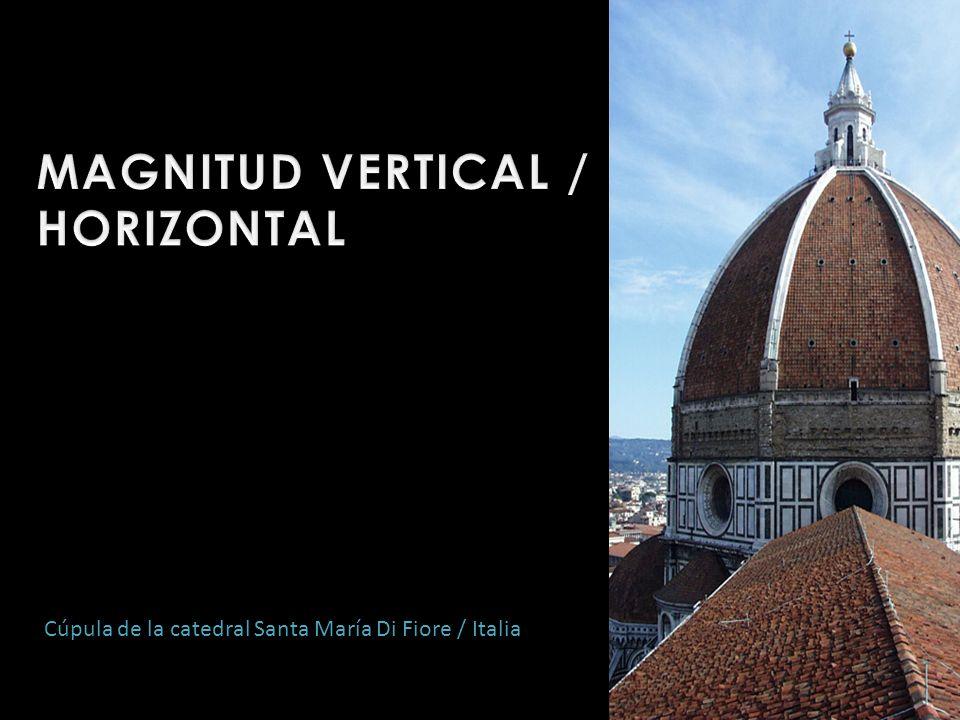 MAGNITUD VERTICAL / HORIZONTAL