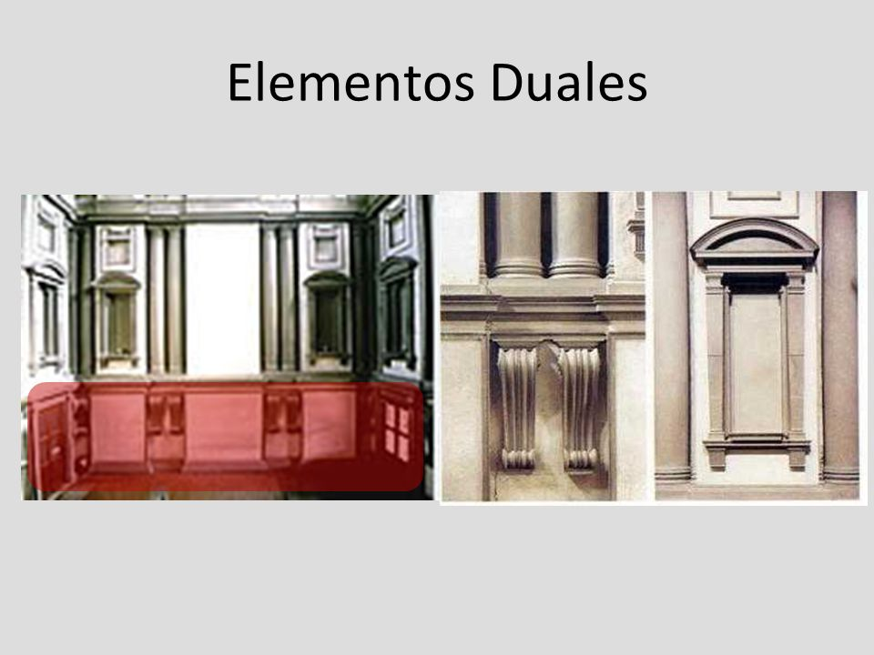 Elementos Duales