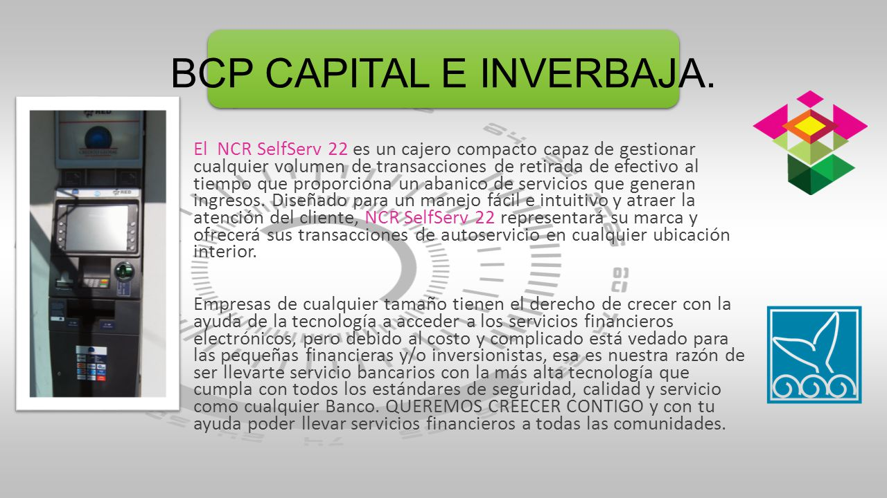BCP CAPITAL E INVERBAJA.