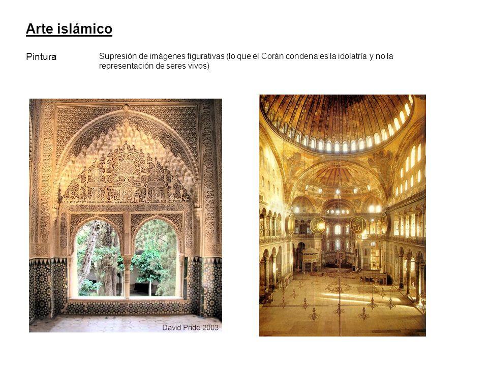 Arte islámico Pintura.